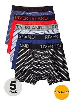 river-island-5pk-polka-dot-printed-trunks