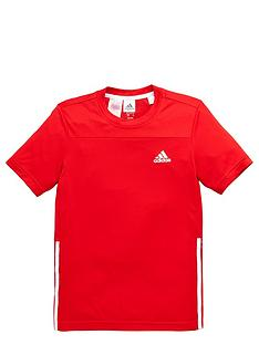 adidas-adidas-older-boys-poly-training-tee
