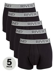 river-island-5-pack-plain-hipsters