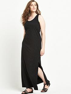 junarose-curve-sleeveless-maxi-dress-black