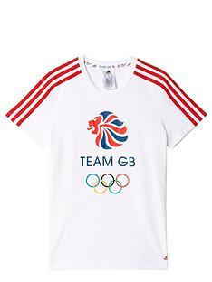 adidas-girls-olympic-gb-tee