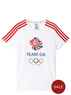 adidas-girls-olympic-gb-tee