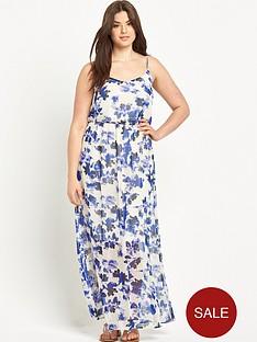 junarose-curvenbspstrappy-maxi-dress