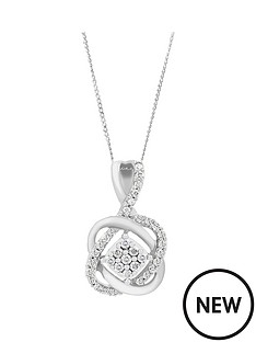 love-diamond-9ct-white-gold-25-point-diamond-infinity-crossover-pendant