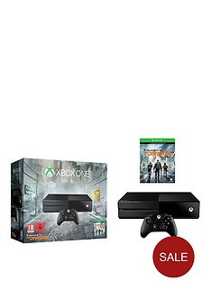 xbox-tom-clancys-the-division-1tb-console-with-optional-extra-controller-and-12-month-xbox-live-subscription