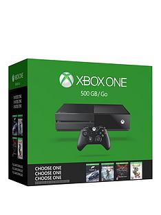 xbox-one-name-your-game-bundle-500gb-console-with-optional-extra-controller-and-12-month-xbox-live-subscription
