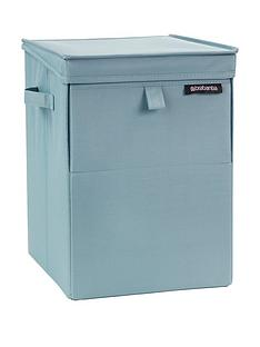 brabantia-stackable-laundry-box-ndash-mint-blue