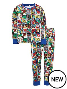 marvel-boys-avengers-comic-pyjamas