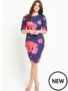 ax-paris-floral-print-bodyconnbspdress
