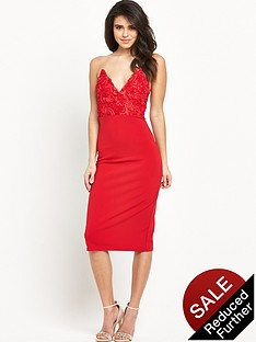 rare-textured-bust-midi-dress