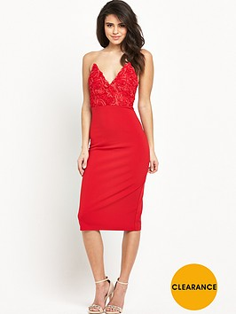 rare-textured-bust-midi-dress