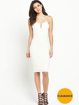 rare-multi-strap-midi-dress