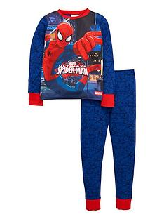 spiderman-boys-long-sleeve-pyjamas
