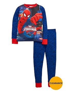 spiderman-boys-long-sleeve-pyjamas