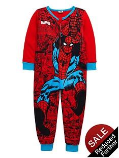 spiderman-boys-fleece-sleepsuit
