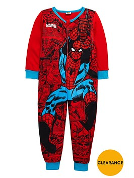 spiderman-boys-fleece-sleepsuit