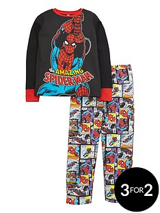 spiderman-amazing-all-over-print-long-sleeve-pyjamas