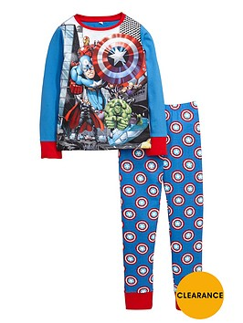 marvel-avengers-team-print-shield-pyjamas