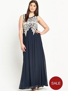 ax-paris-curve-lace-maxi-dress