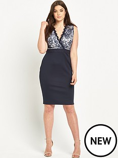 ax-paris-lace-front-bodycon-dress