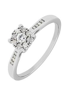 the-astral-diamond-9ct-white-gold-28-point-cluster-ring-with-stone-set-shoulders
