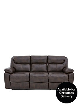 parton-luxury-faux-leather-3-seater-manual-recliner-sofa