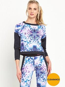 juicy-sport-prism-floral-compression-sweat