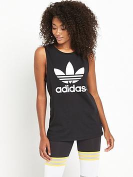 Adidas Originals Loose Tank  Black