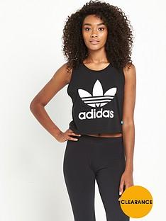 adidas-originals-loose-crop-tank-black