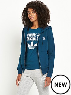 adidas-originals-full-zip-hoodie-teal