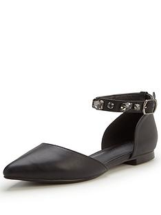 v-by-very-burmannbspjewelled-ankle-strap-flatnbsp