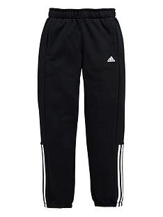 adidas-adidas-older-boys-3-stripe-fleece-pant