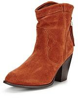 Chambers Real Suede Western Boot