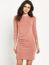 GleaThree Quarter Sleeve Dress