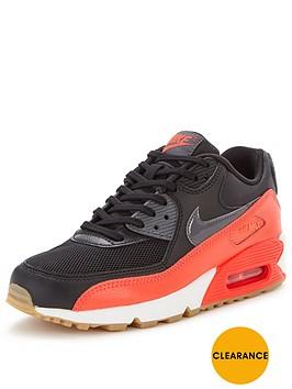 nike-air-max-90-fashion-shoe-blackred