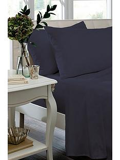 catherine-lansfield-non-iron-plain-dyed-percale-flat-sheet