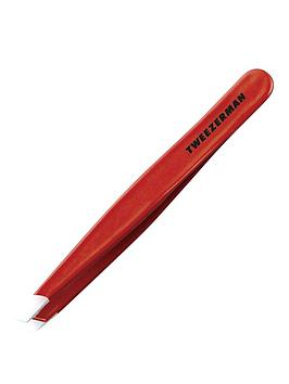 tweezerman-slant-tweezer-signature-red