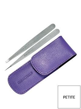 tweezerman-petite-tweeze-set-with-lavender-case