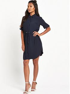 miss-selfridge-miss-selfridge-plain-shirt-dress