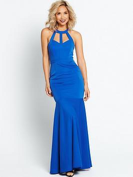 myleene-klass-cut-out-back-maxi-dress-cobalt
