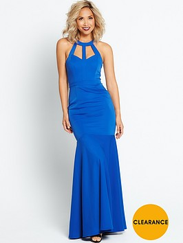 myleene-klass-cut-out-back-maxi-dress-cobalt