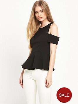 river-island-mesh-peplumnbspcold-shoulder-top