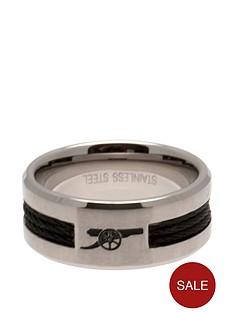 arsenal-stainless-steel-black-inlay-crest-ring