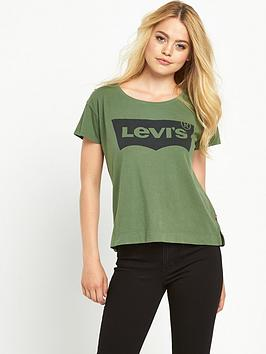 levis-levi-perfect-batwing-sleeve-tee-bronze-green