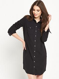 levis-iconic-modern-western-style-shirt-dress-black-ink