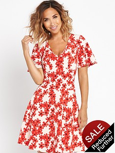 myleene-klass-floral-printed-tea-dress
