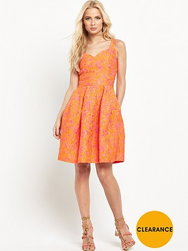 pinko-moreno-jacquard-dress