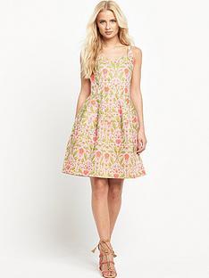 pinko-moreno-printed-jacquard-dress