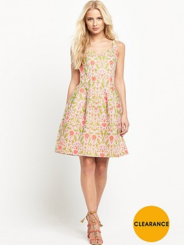 pinko-moreno-printed-jacquard-dress