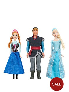 disney-frozen-fozen-dolls-anna-elsa-and-kristoff-x3-pack-set